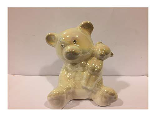 L'angolo barletta bomboniere battesimo bimbo orso orsetto peluche porcellana capodimonte