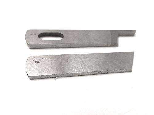 Obermesser + Untermesser für Bernina Overlockmaschinen 700D / 800D / 800DL / 1100D / 1110D / 1100DA / 1150MDA / 1200MDA / 1300MDC / 1000DA / 1200DA / 1300DA / Bernette 006D / 007D / funlock 007 / 334D / 334DS / 2000D / 2000DE / 2000DCE / 2500DCE /2500DCET -