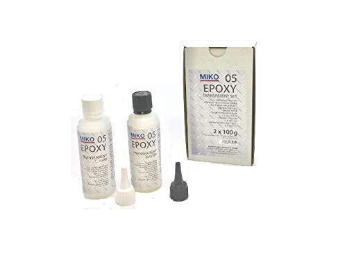 Super 2 K Komponenten Epoxy Kleber Transparent 200g Packung 2x 100 ml Zug- und schlagfest