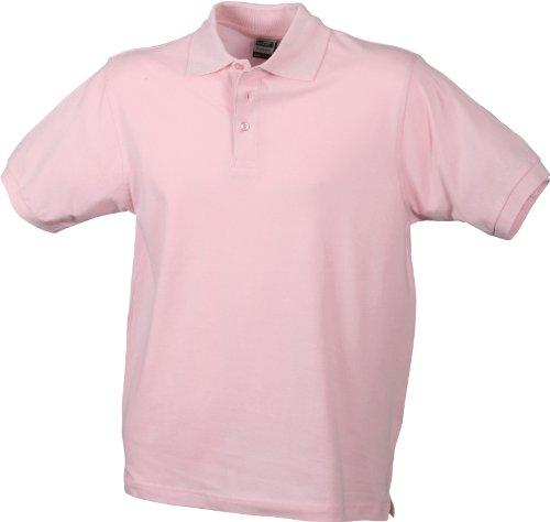 James & Nicholson Herren Poloshirt Rot - Rouge - Rose