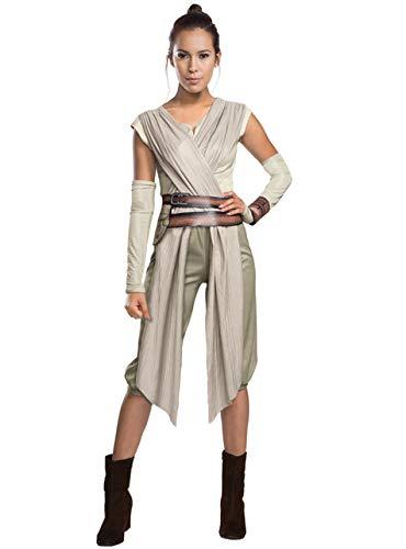 Kostüm 7 Rey Wars Star - Generique - Rey-Kostüm für Damen - Star Wars VII Deluxe