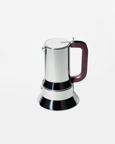 Alessi 9090/3 FM Espressomaschine aus Edelstahl