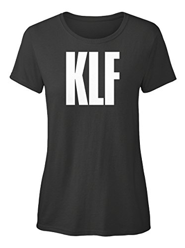 Ladies KLF T-shirt, Black - S to XXL