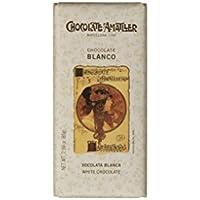 Chocolate Amatller - Tableta de chocolate (Chocolate blanco) - 25 tabletas de 85 gr. (Total 2125 gr.)