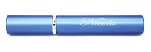 Vincenza gravé personnalisé 5ml Portable Mini Rechargeable Parfum après rasage Pulvérisateur Vide Bouteille Pulvérisateur - personnaliser avec n'importe quel nom ou message