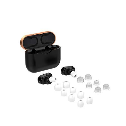 CAOQAO Les Embouts en Silicone De Couverture 7pairs Couvrent des GéLules De Rechange Compatibles avec Sony WF-1000XM3, des Accessoires De Remplacement De Bouchons d'oreilles,(Blanc)
