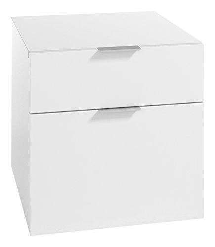 LOWE Muebles Uno - Módulo 2 cajones, 45 x 47 x 45 cm, Blanco
