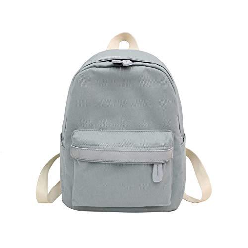 Huacat Student Tasche Schultertasche Reisetasche große Kapazität einfarbige Kaninchen Ornament Sporttaschen Rucksäcke Messenger-Bags Schultaschen -