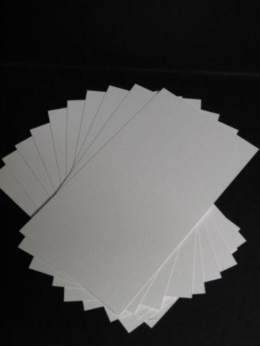 40 x Watercolour Card Smooth (Textured) 300gsm 120 x 210mm AM532 Test
