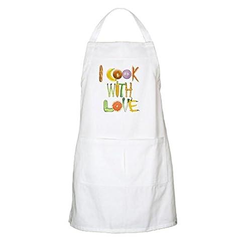 whiangfsoo I Cook Tablier avec inscription Love