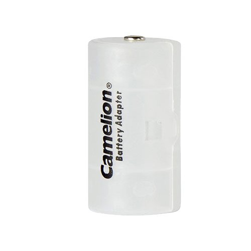 Camelion Pack de 2 Adaptateur en plastique pour Piles