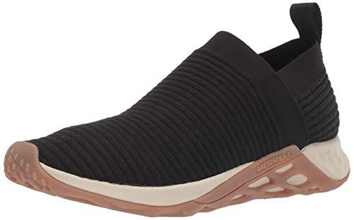 Merrell Herren Range Laceless Ac+ Slip On Sneaker, Schwarz (Black/Gum), 47 EU - Ac Tabs