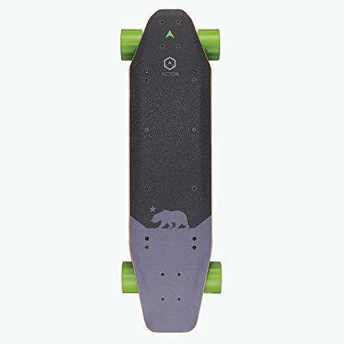 Acton Unisex niño blinks2Blink S2Dual Hub motor eléctrico Skateboard–negro, N/A