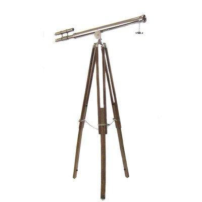 Antiguo réplica decorativa telescopio