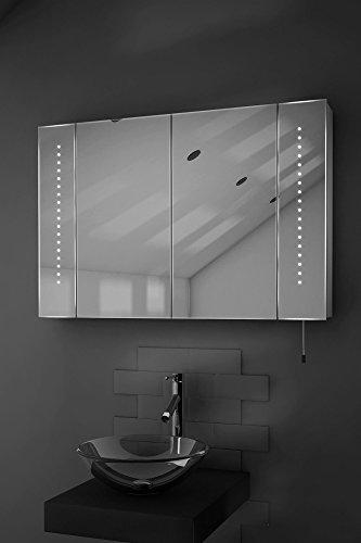Spiegelschrank mit Batteriebetrieb – 90 cm - 2