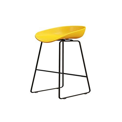 Eisen Barhocker Industrial Style für Küche und Restaurant Barhocker Sitzhöhe 75 cm / 65 cm / 45 cm Gelb - Barhocker Eisen