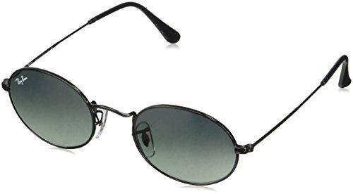 Ray-Ban Unisex-Erwachsene 0RB3547N 002/71 51 Sonnenbrille, Black/Graygreen,