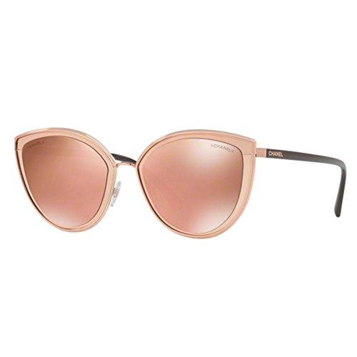 Chanel ch4222 c1174z occhiale da sole rosa pink sunglasses sonnenbrille donna