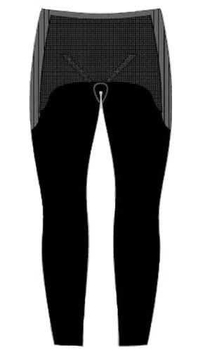 crotton ? Pantalon Thermolite Largo Frau. Schwarz M