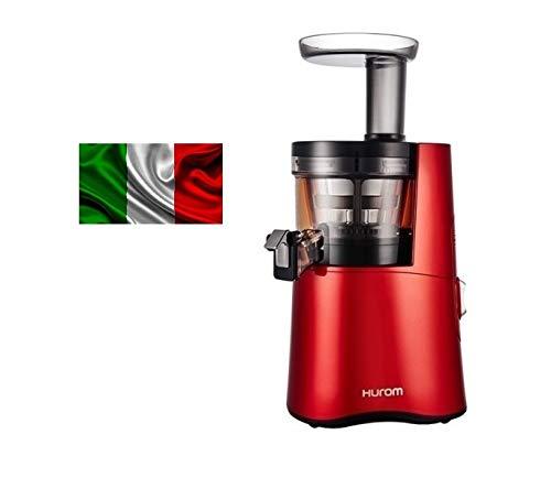 Estrattore di succo Hurom ITALIA H-AA EBE17 Rosso Terza Generazione 17 giri al minuto con Garanzia Ufficiale ITALIA 10 anni