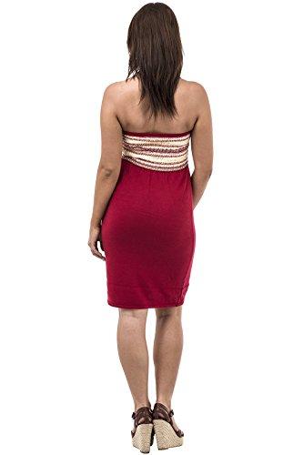 69 Selection - Robe spécial grossesse - Femme rouge Red Medium red