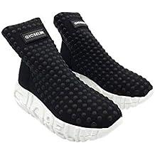 Gioselin Scarpa Donna Sneakers War Borchie Studs Black Nero 0d91209bed1