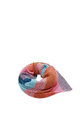 ESPRIT Accessoires Damen Schal 108EA1Q013, Rosa (Pink Fuchsia 660), One Size (Herstellergröße: 1SIZE)