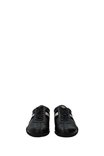 FRANCISCA206201932 Bally Sneakers Femme Cuir Noir Noir