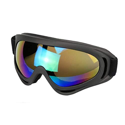 Occhiali da sci ultra-elastici professionali confortevoli unisex occhiali da sci per occhiali senza polvere c7006 per adulti all'aperto