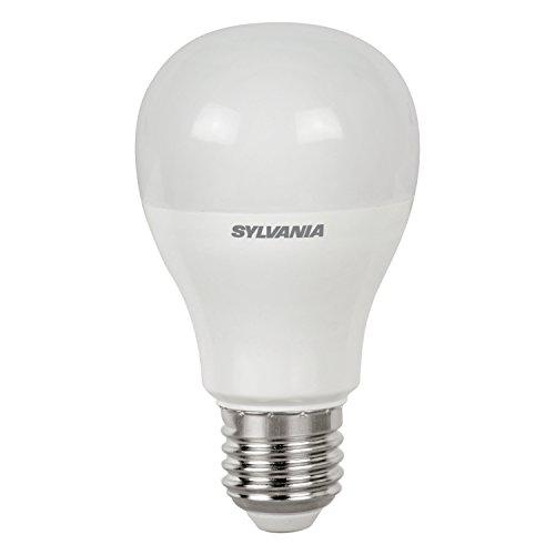 Sylvania 0026629Toledo Tropfenform satiniert, E27, Leutmittel Klassisch 11.3 x 6.4 x 6.4 cm Bianco (Sylvania 100w Led-lampe)