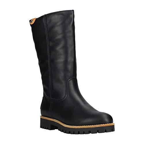 PANAMA JACK Damen Winterstiefel Tania Igloo,Frauen  Winter-Boots,Fellboots,Lammfellstiefel,Fellstiefel,gefüttert,warm,Schwarz,EU  37 639ddb4263