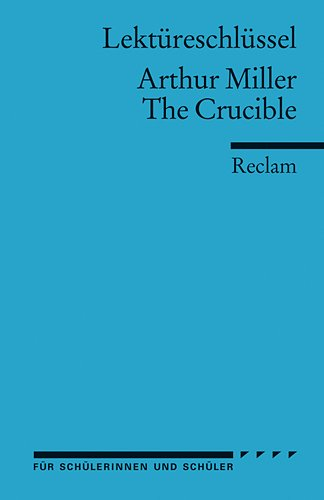 a study guide to arthur millers the crucible The crucible by arthur miller - study guide the crucible  the crucible study guide 12 because it is my name because i cannot have another in my life.