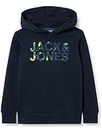 JACK & JONES Jungen Jjsplash Sweat Hood Jr Kapuzenpullover