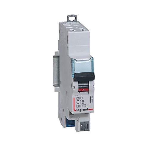 Legrand LEG92893 DNX3 Disjoncteur 1P+NG C16 3000a auto 1 module