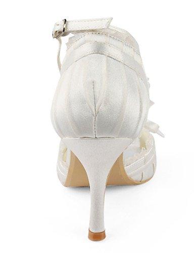 WSS 2016 Chaussures de mariage-Noir / Rouge / Blanc / Beige-Mariage / Habillé / Soirée & Evénement-Talons / Bout Ouvert-Plates-Homme 3in-3 3/4in-beige