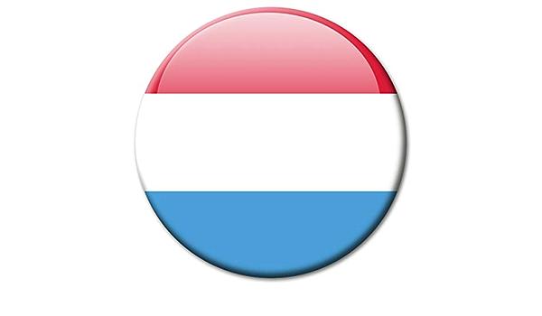 Kühlschrankmagnet Luxemburg Flaggen Magnet Länder Reise Souvenir Flagge Für Kühlschrank Stark Groß 50 Mm Küche Haushalt