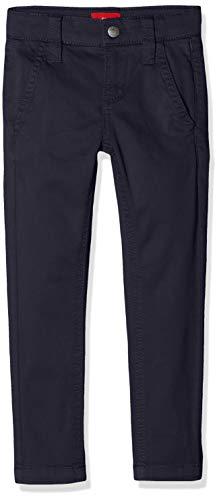 s.Oliver Jungen Slim Fit Hose 64.902.73.2034, Einfarbig, Gr. 92 (Herstellergröße: 92/REG), Blau (Dark Blue 5876)