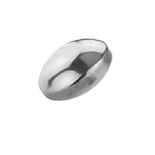 eeddoo Dermal Anchor Adapter Silber Titan