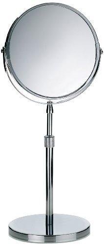 Kela 20846 Specchio con base d'appoggio, due superfici riflettenti (ingrandimento