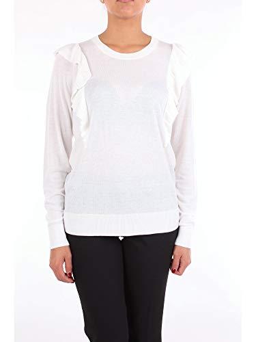 Michael Kors Winter Pullover (Michael MICHAEL KORS MU86NLBOWP Pullover Damen weiß XXL)