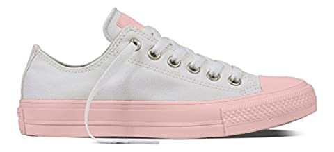 Converse Unisex-Erwachsene All Star II Sneaker, Mehrfarbig (White/Vapor Pink/Vapor Pink), 39.5 EU