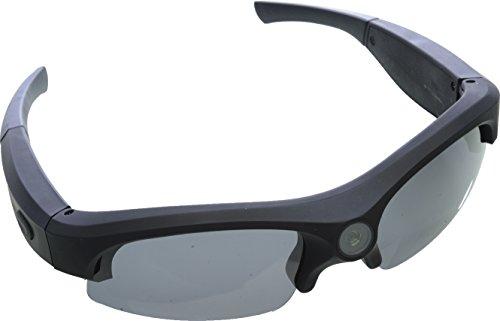 Rollei Sunglasses Cam 200 Actioncam Brille mit 5 Megapixel und Full HD – Schwarz - 5