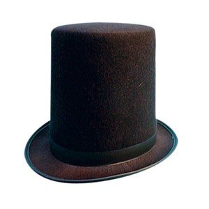 stovepipe-topper-blk-felt-partypackage-b-dress-up-hats-party-photo-boothaccessories-all-themes
