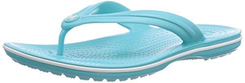 CrocsCrocband Flip, Infradito Unisex - Adulto, Blu (Pool/White), 45/46 EU