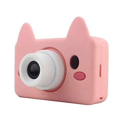 Xwly-Dr Kids Digital Videokameras 2,0 Zoll 8 Megapixel Micro USB wiederaufladbare Children Anti-Drop-Kamera Jungen Mädchen,Pink