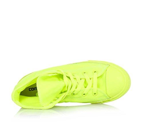 Converse - Converse Ctas Hi Sneaker Gelb Fluoreszierend gelb