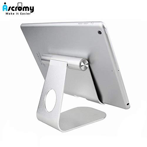 Preisvergleich Produktbild HAMISS Tablet Stand Holder Adjustable Aluminum Desktop Mount Cradle for iPad Pro Air Mini for Samsung Tab Cell Phone Support Dock