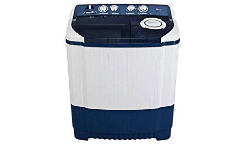 LG 8.0 kg Semi-Automatic Top Loading Washing Machine (P9037R3SM, Dark...