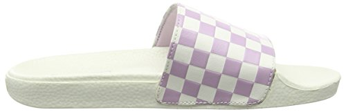 Vans Slide-on V4LGIX8 Ciabatte da Donna Rosa (checkerboard/white/winsome Orchid)