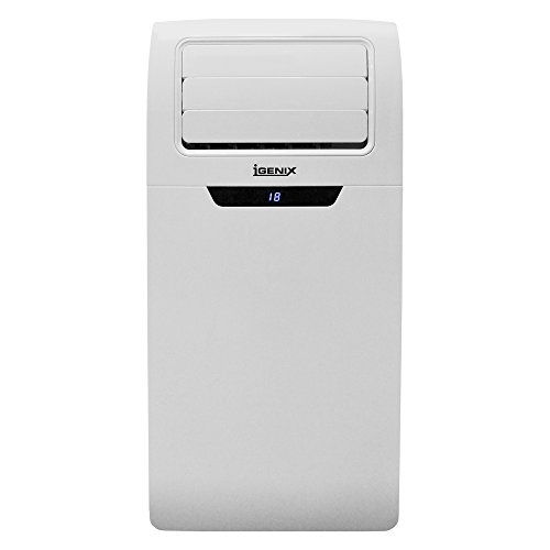 31NeX1TEjGL. SS500  - Igenix IG9902 3-in-1 Portable Air Conditioner with Cooling, Heating and Fan Function, 3 Fan Speeds with Sleep Mode, Remote Control and 12 Hour Programmable Timer, White